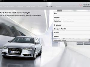 Nexum'dan Audi A6 için iPad uygulaması