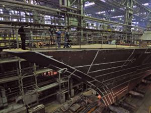 Rus gemi inşacıları dünya rekoru kırdı