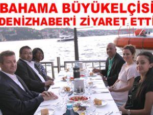 Bahama Elçisi DenizHaber'i ziyaret etti