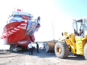 'Kaya Reis-1' törenle denize indirildi