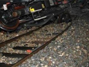 Bingöl'de tren geçişinde mayın patladı