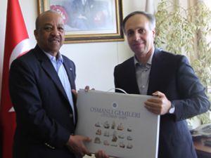 Bahama Elçisi, Müsteşarlığı ziyaret etti