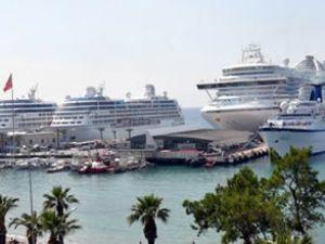 Kuşadası gemi turizminde sınırları zorluyor