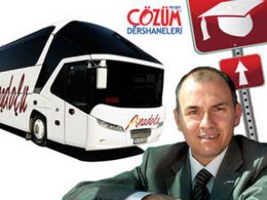 Üniversitelinin otobüs bileti, Ulaşım'dan!
