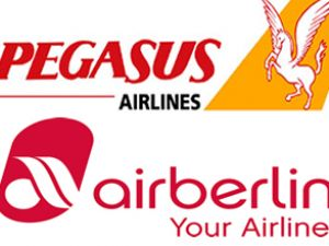 Air Berlin ve Pegasus'tan ortak şirket