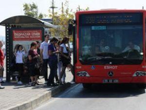İzmir'de ulaşım Bayram'da yarı fiyatına