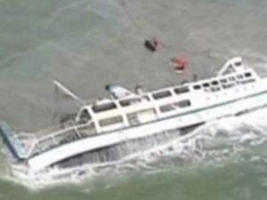 Endonezya'da feribot battı: 12 kişi öldü