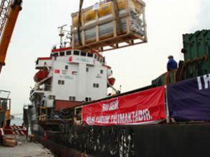İHH yardım gemisi Somali'ye hareket etti