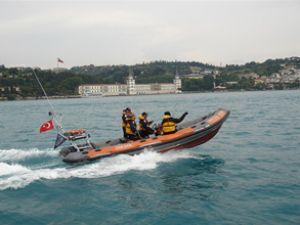 Heybeliada açıklarında tekne kazası