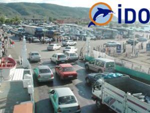 İDO, bayram boyunca 85 bin araç taşıdı