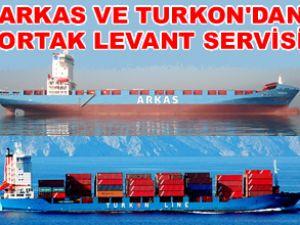 Arkas Line ve Turkon'dan ortak servis