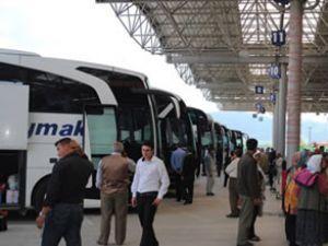 Otobüs firmaları bayramı yoğun geçirdi