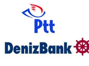 DenizBank ve PTT'den yeni hizmetler