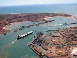 Port Hedland'da demir sevkiyatı arttı