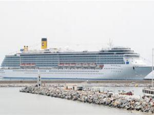 Costa Mediterranea, Alanya Limanı'nda