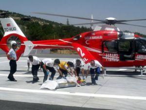 İşte Hava ambulansının 3 yıllık karnesi