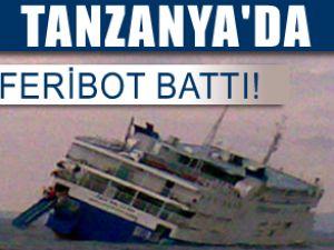 Tanzanya'da 500 yolculu feribot battı