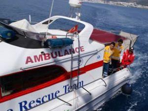Muğla'ya 3 adet deniz ambulansı alınıyor
