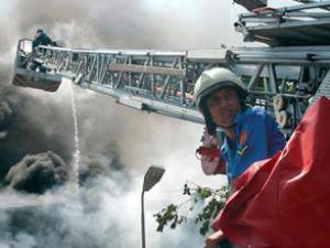 İstanbul-İzmit ulaşımına yangın engeli