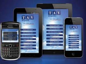 TAV Mobile ile uçuş bilgileri cebinizde