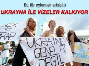 Türkiye ile Ukrayna arasında vize kalkıyor
