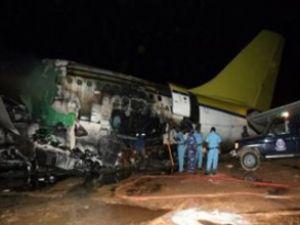 Angola'da askeri uçak düştü: 30 ölü