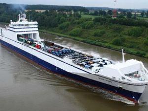 Kuzey Deniz hattı için yeni yük feribotu