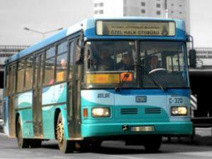 Halk otobüsünde ses bombası paniği