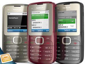 Çift sim kartlı Nokia'lar Türkiye'de