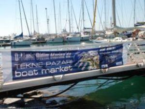 D-Marin Didim'de 'Tekne Pazarı' açıldı
