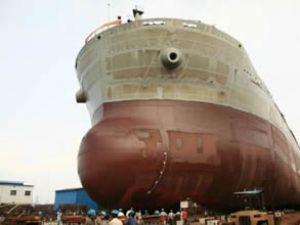 Golden Union'un yeni gemisi suya indirildi