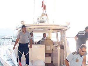 Polis için özel dizayn edilen 'süper tekne'