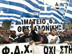 Grevler Yunan turizmine darbeyi vurdu