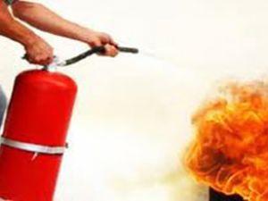 Otobüslere yangın söndürme sistemi