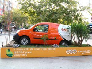 TNT'nin elektirkli araçları yola çıkıyor