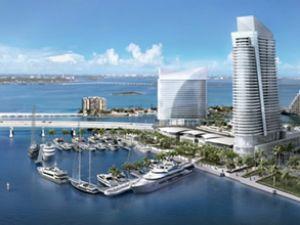 Türk işadamından Miami'ye yat limanı