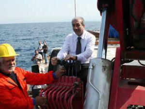 Akdeniz'in suni resif projesi temeli atıldı
