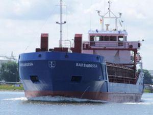 Barbarossa gemisi Boğaz'da arızalandı