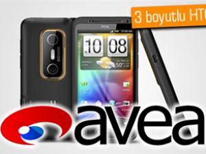 HTC EVO 3D, Avea ile Türkiye'de