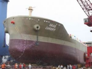 """Graig Cardiff"" tankeri denize indirildi"