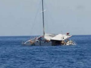 New South Wales'te tekne alabora oldu