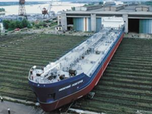 Proje 19614'ün 8 tankeri suya indirildi