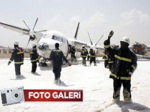 Sudan Air, gövdesi üzerine iniş yaptı