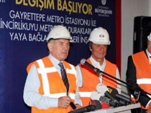 İstanbul'da Metrobüs ile metro birleşiyor