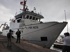 Piri Reis gemisi Gazimağusa'ya yanaştı
