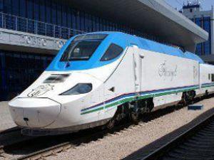 Özbekistan'ın hızlı treni sefere başlıyor