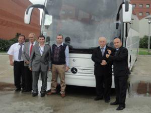 Arıkan'a 15 adet Tourismo teslimatı