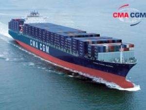 CMA CGM, Çin'e 20 gemi siparişi verdi