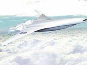 50 yıl sonrasının uçak modeli tasarlandı