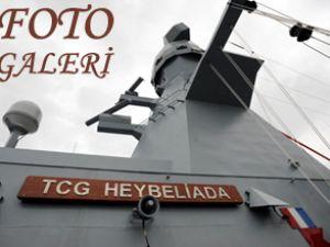 Milli savaş gemisi TCG Heybeliada tanıtıldı